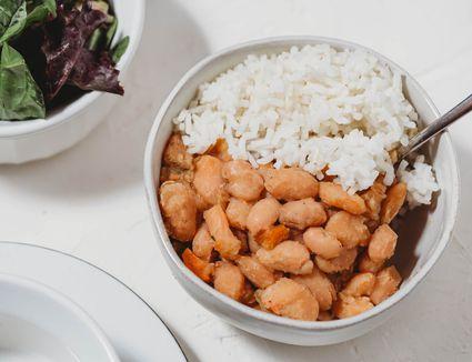 Crockpot great Northern beans recipe