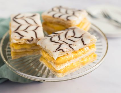 Mille-Feuille Homemade Napoleon Pastry