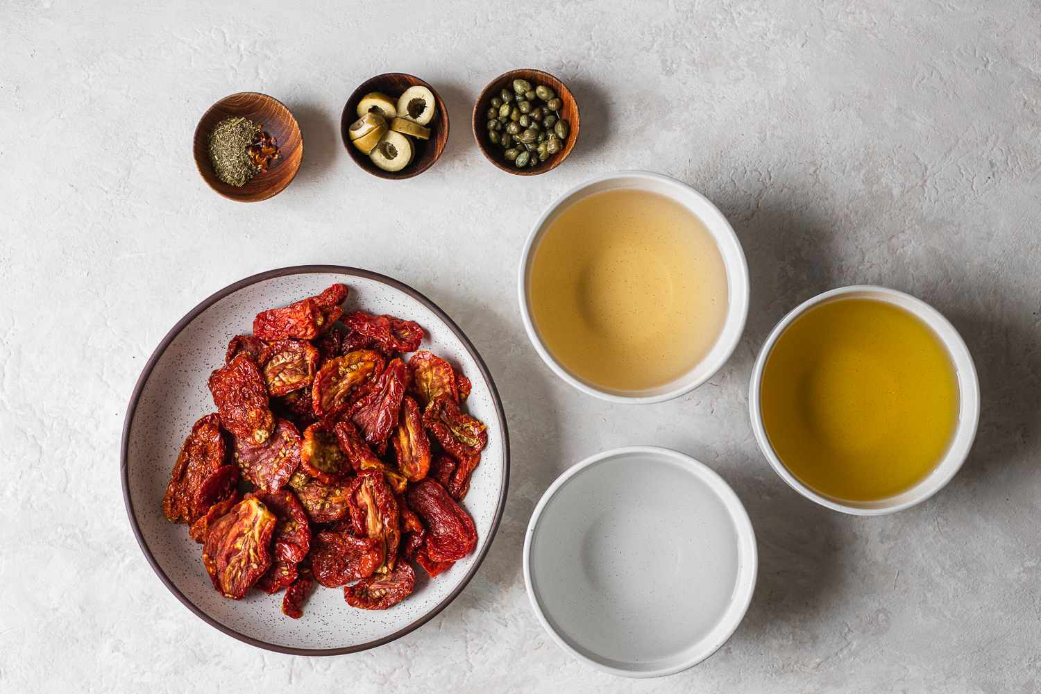 Sun-Dried Tomatoes in Olive Oil ingredients
