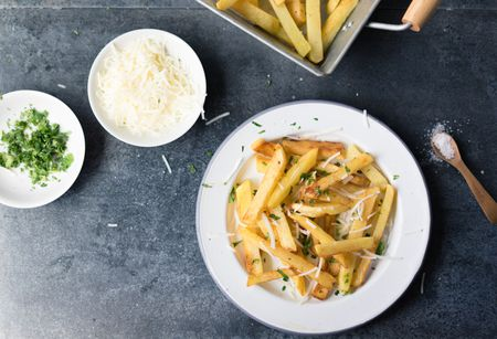 Truffled French Fries Recipe