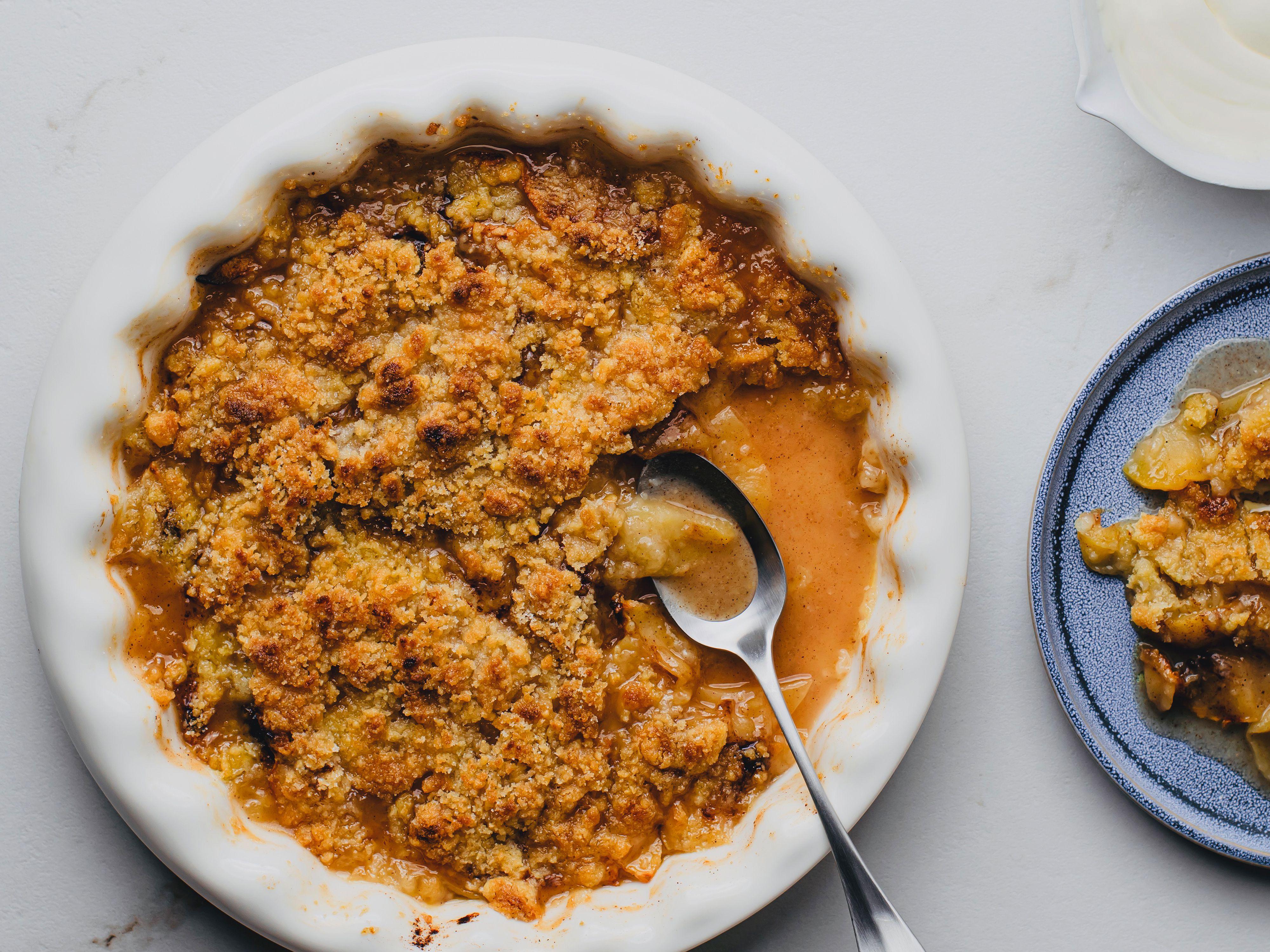 Baked Apple Crisp Dessert Recipe