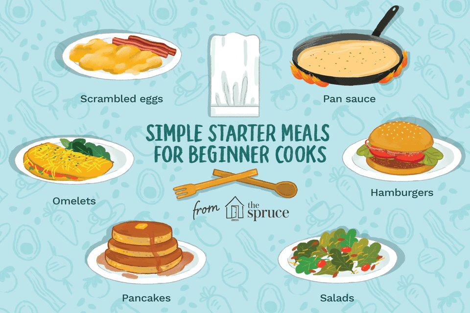 starter meals for beginner cooks