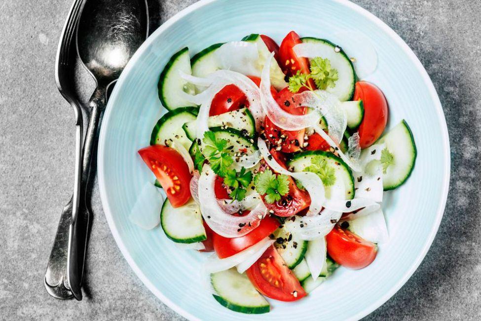 Spanish Cucumber Salad