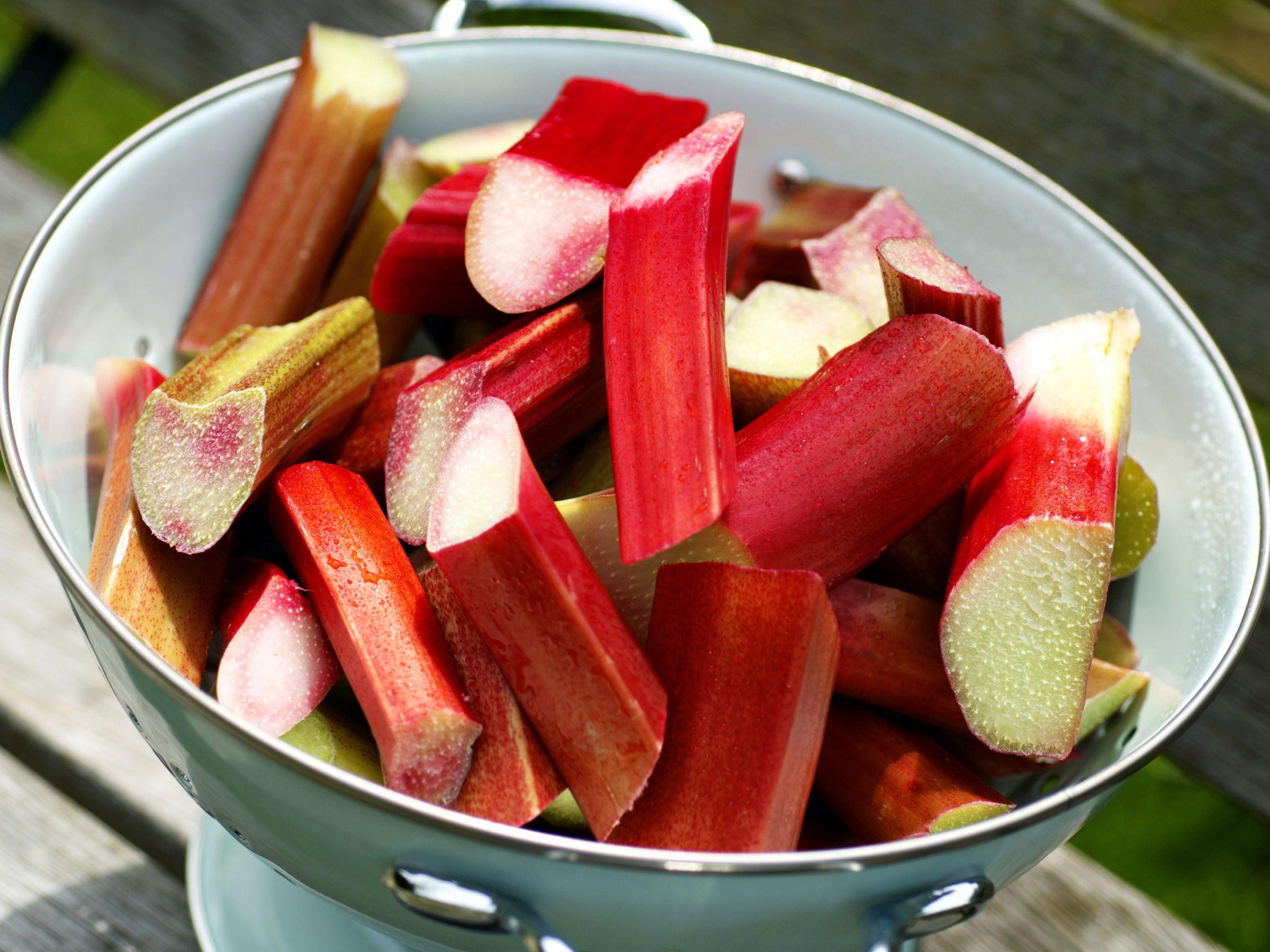 the health benefits of rhubarb