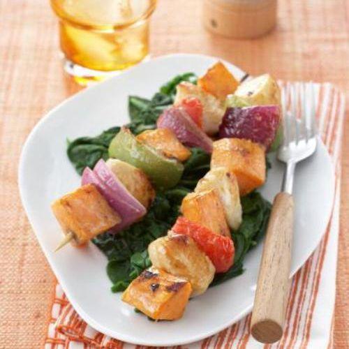 Grilled Sweet Potato Skewers