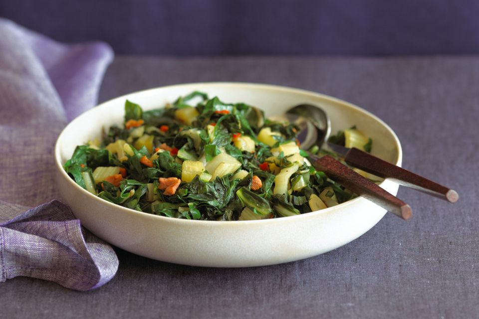 Swiss Chard With Bacon