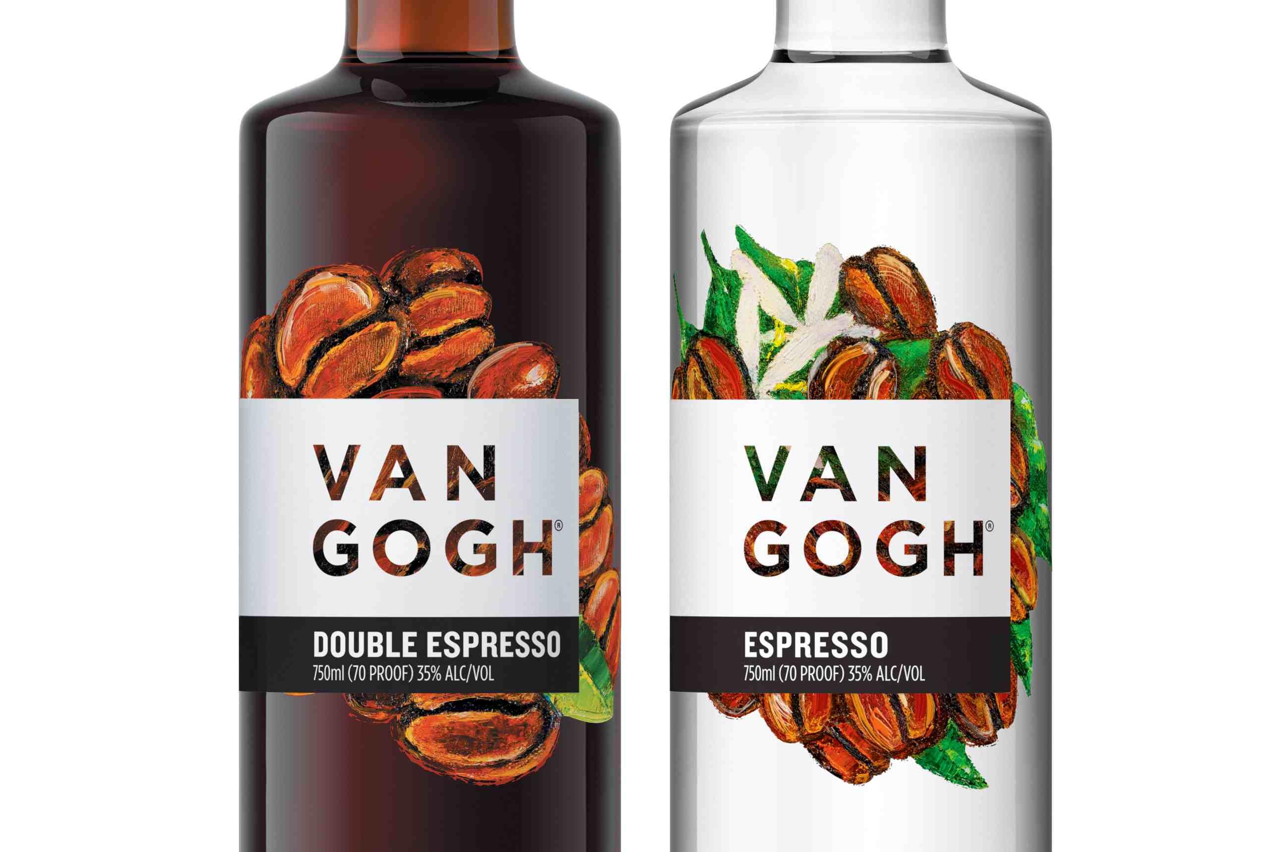 Van Gogh Espresso and Double Espresso Vodkas
