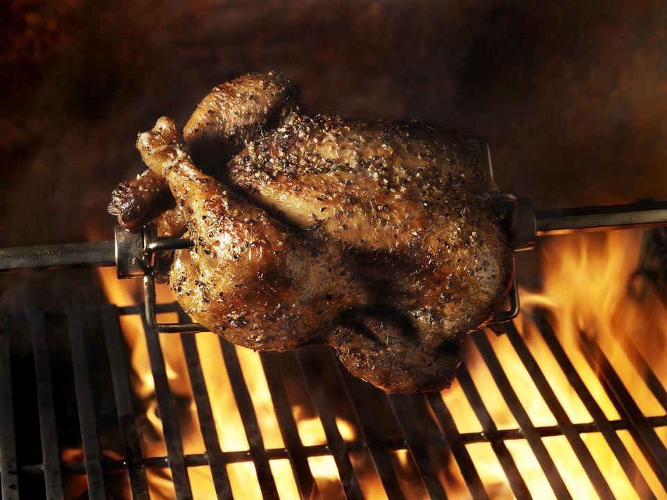 Mexican Style Rotisserie Chicken