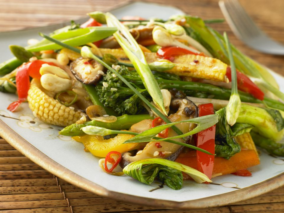 Vegetable stir fry recipe in 16 minutes quick easy thai vegetable stir fry recipe forumfinder Image collections