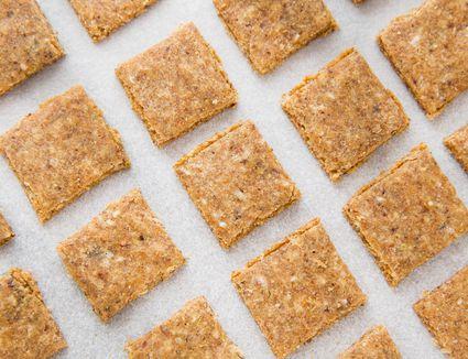 Gluten-Free Almond Flax Cracker