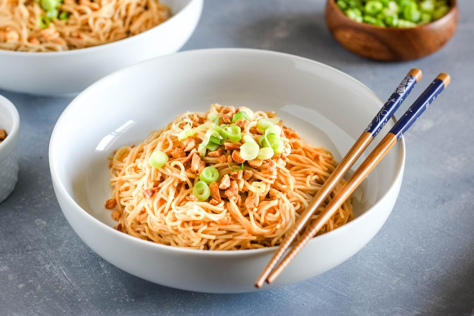 Easy Szechuan Dan Dan Noodles