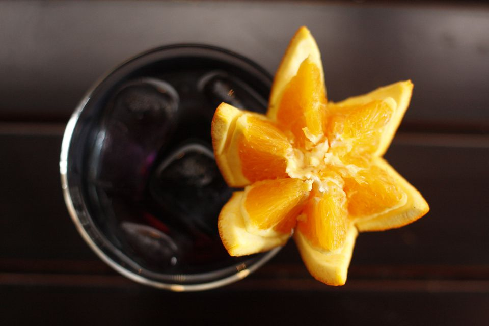 Albania, Tirana, Black cocktail