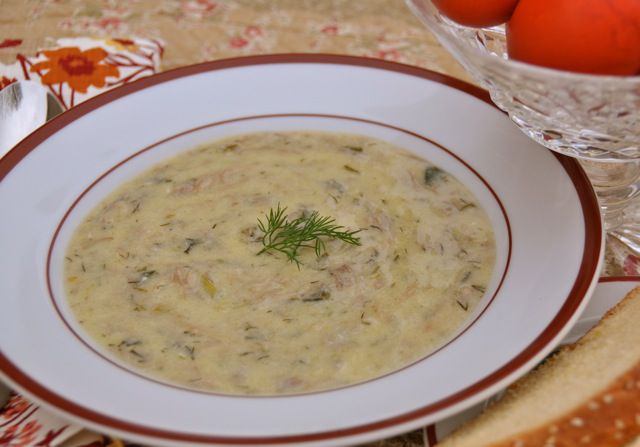 Greek Easter Soup