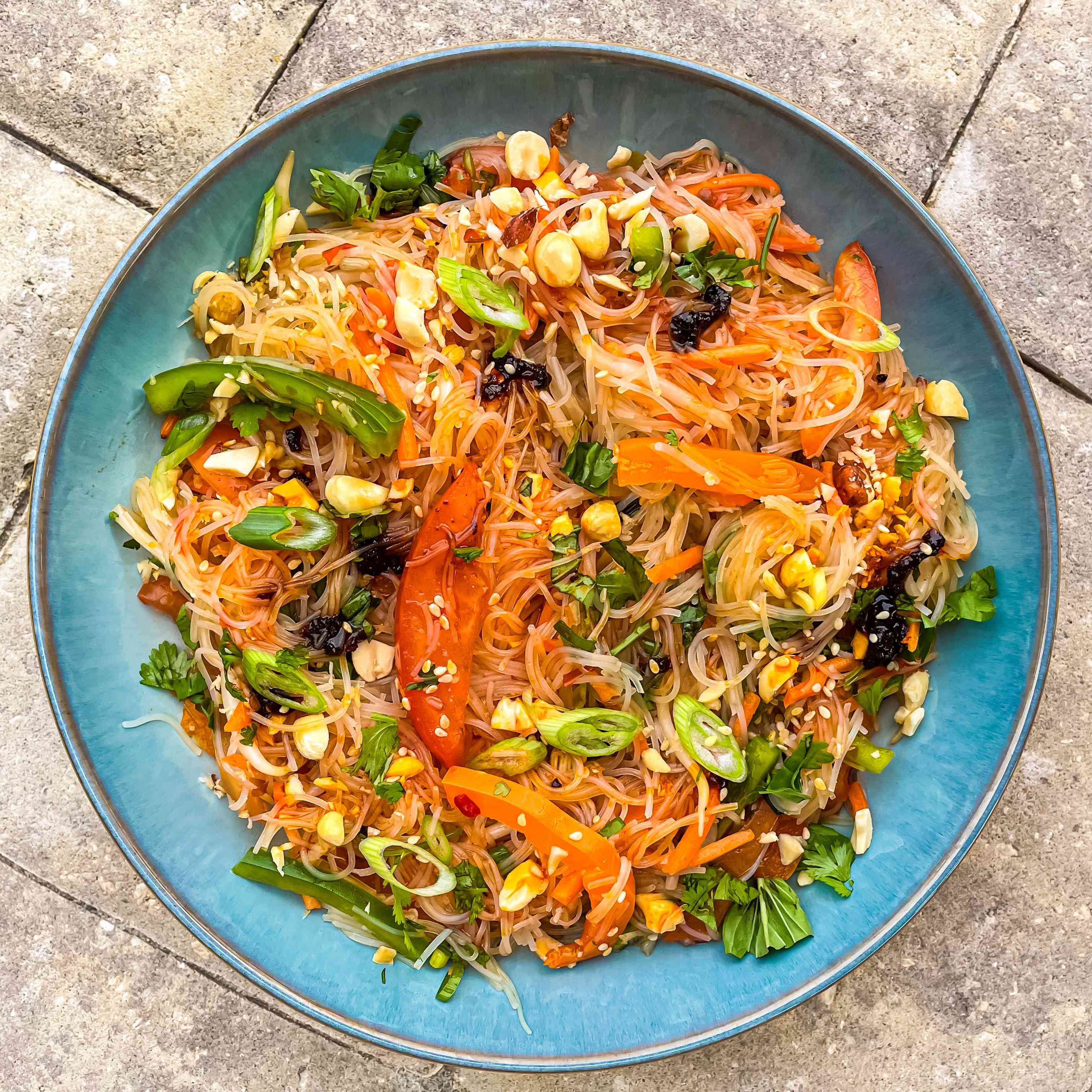 Thai Rice Noodle Salad With Chili-Lime Vinaigrette Tester Image