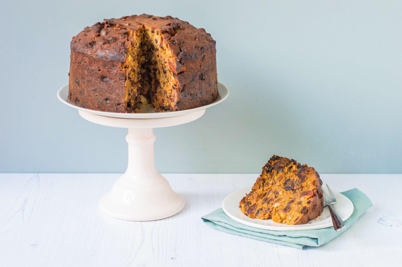 Traditional British Fruit Cake Recipe