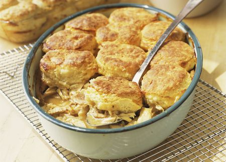 Fast And Easy Chicken And Biscuit Casserole Recipe
