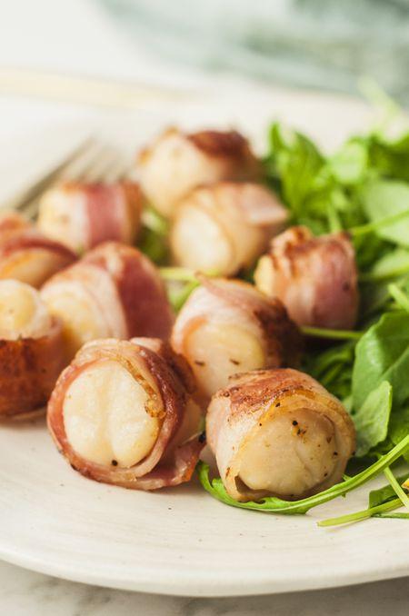 Easy Bacon Wrapped Scallops Recipe