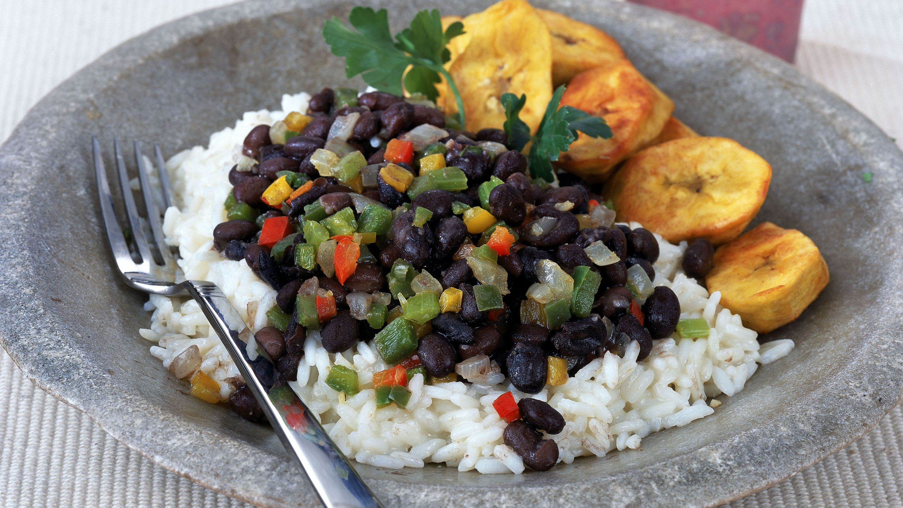 Caribbean Rice And Black Beans Recipe