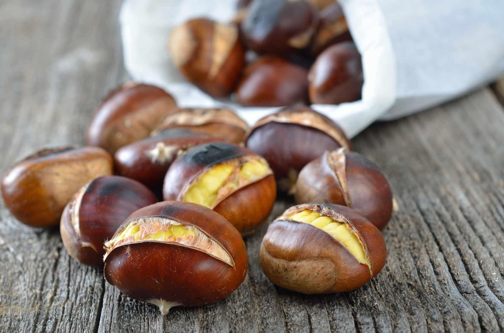 turkish roasted chestnuts