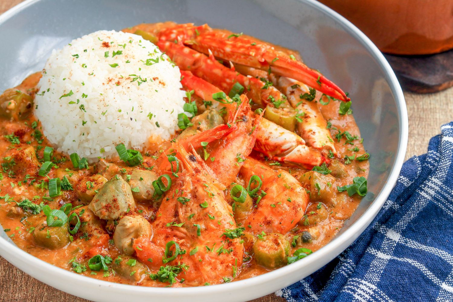 seafood gumbo recipe with shrimp and crab meat