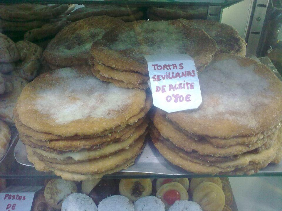 Receta española de tortas de aceite - Tortas de Aceite