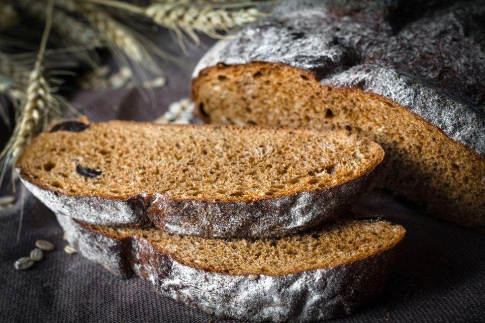 Russian Sourdough Dark Rye Bread
