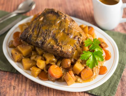Pot roast the slow cooker recipe