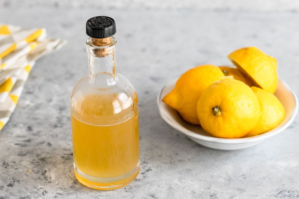 Lemon simple syrup