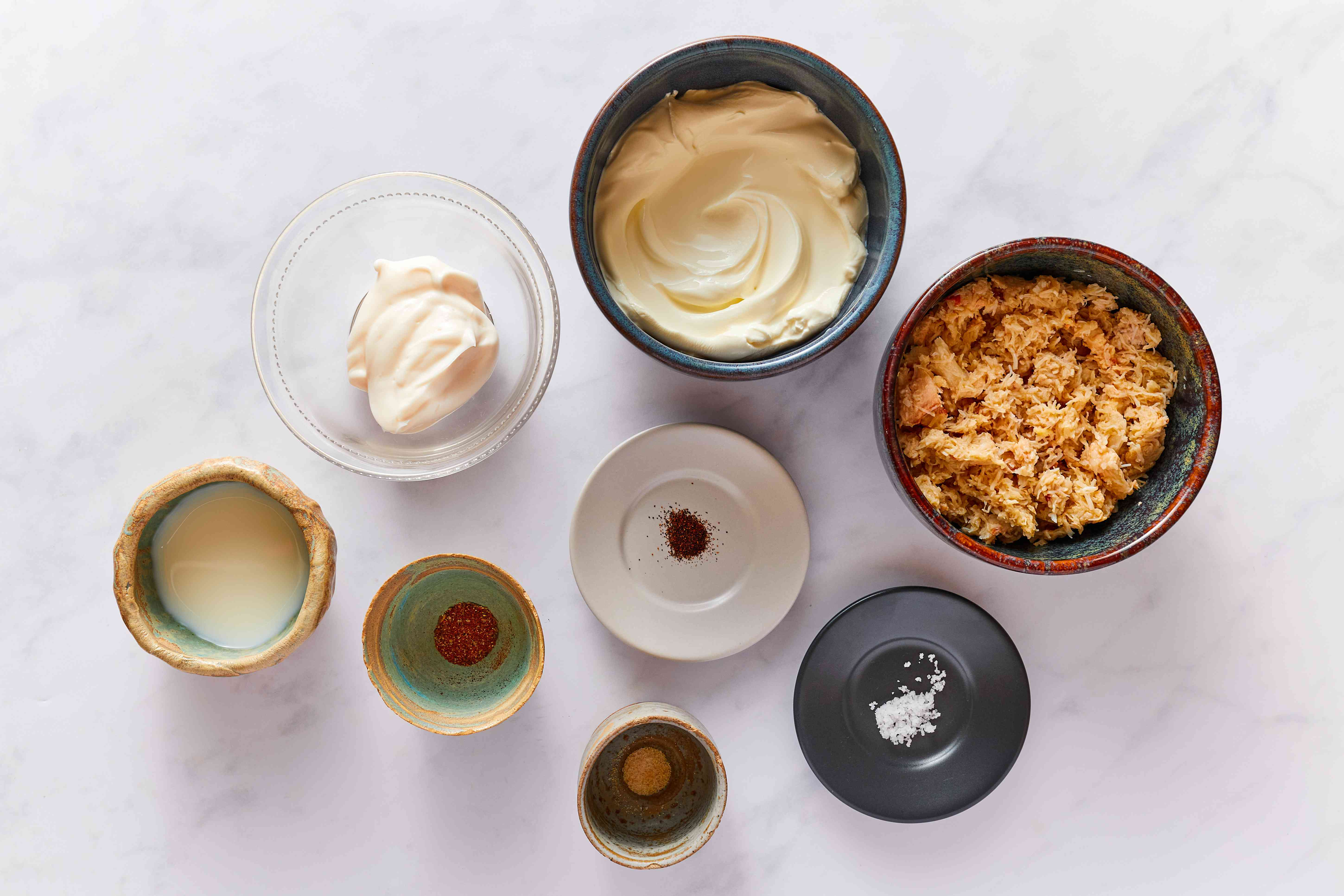 Creamy crab dip recipe ingredients