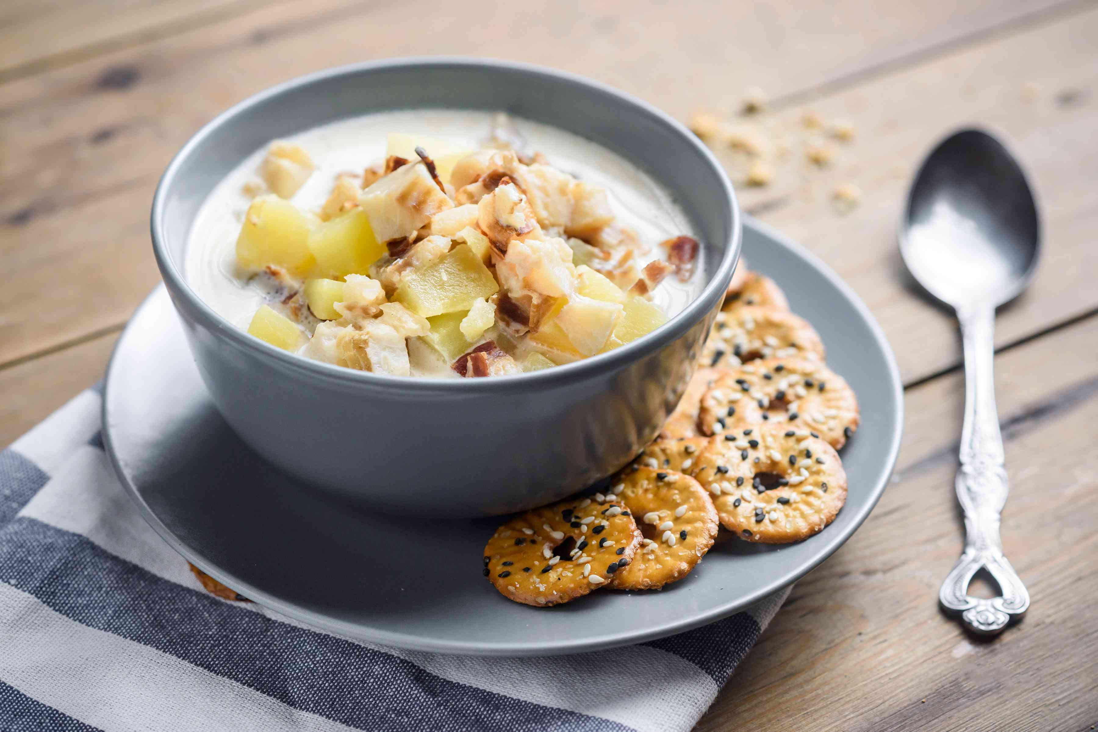 Crock pot fish chowder
