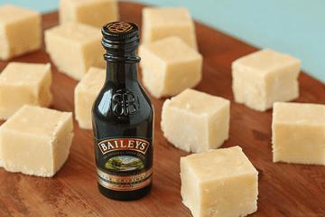 Bailey's Irish Cream fudge