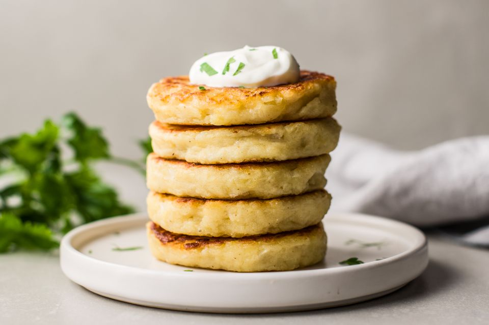 Crispy potato patties