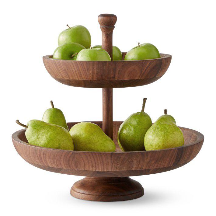 williams-sonoma-walnut-tiered-fruit-bowl