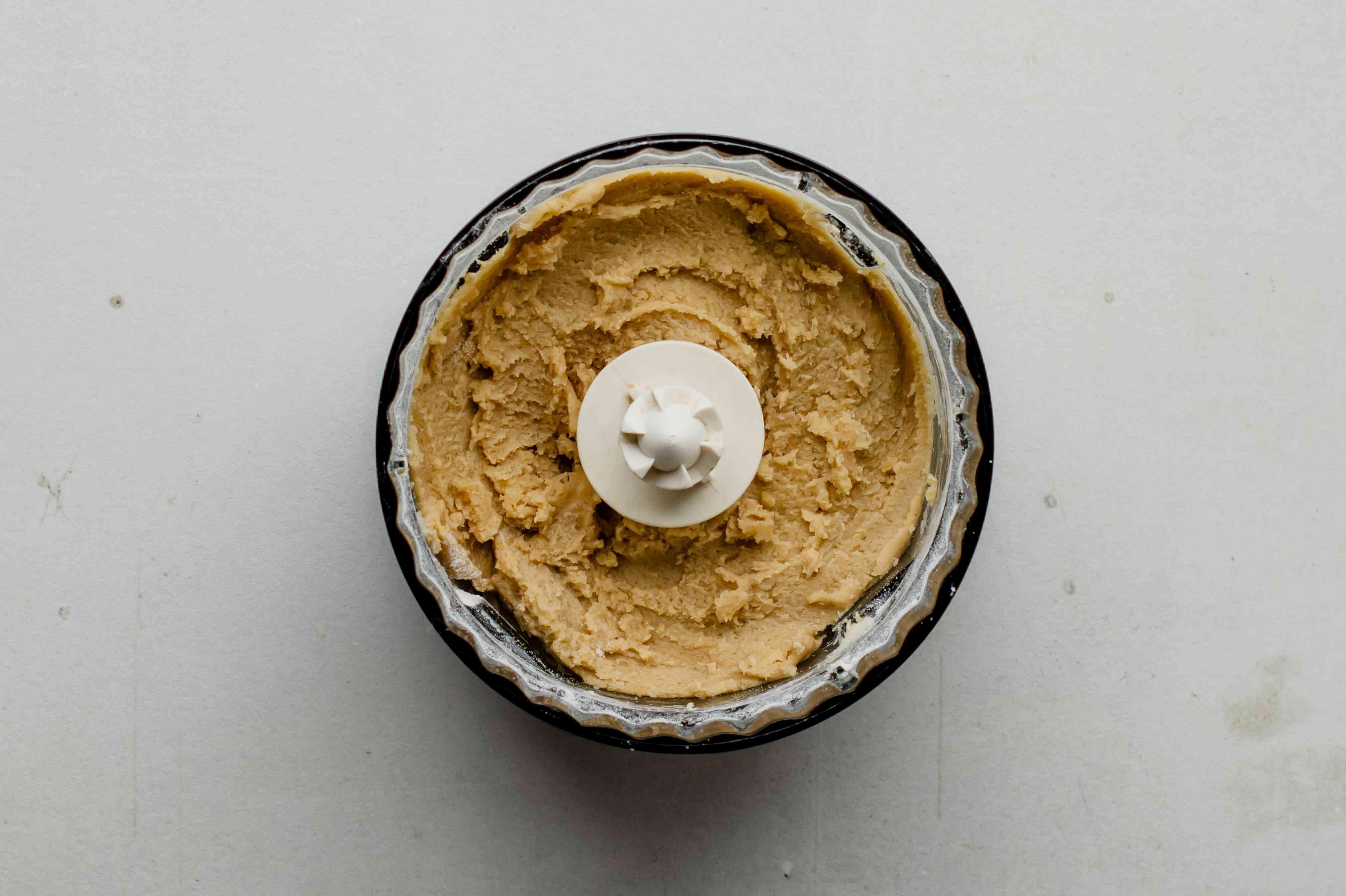 Blend ingredients in food processor