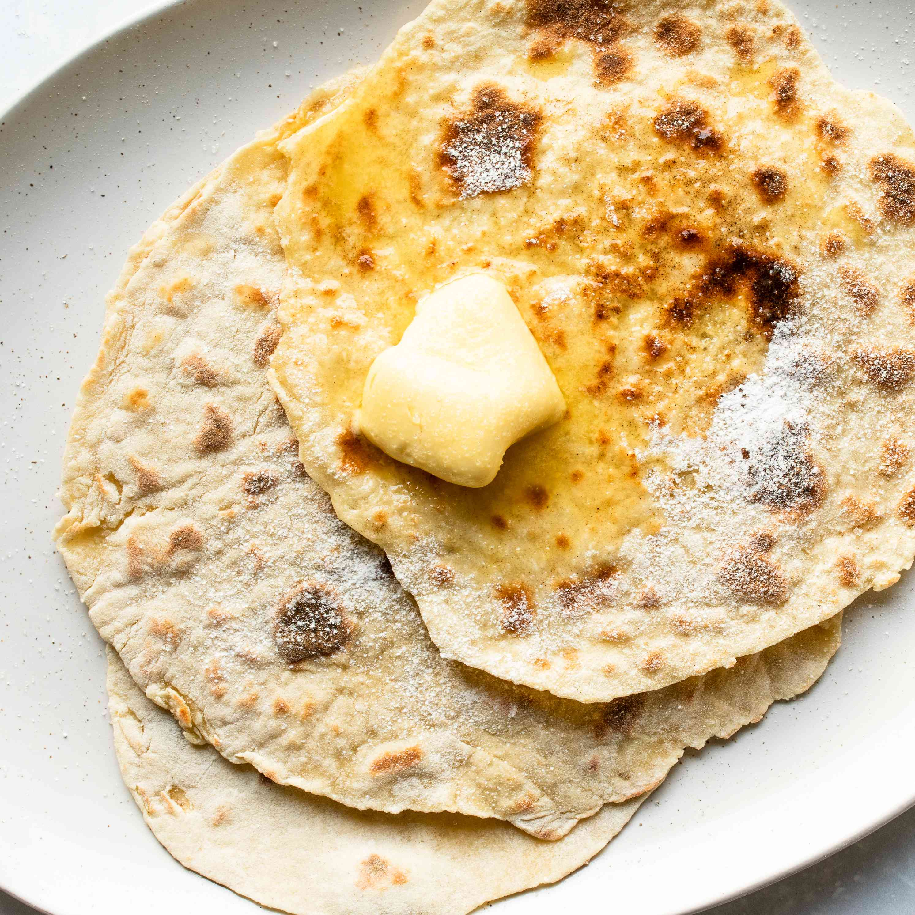 Basic Norwegian Lefse Potato Bread Recipe