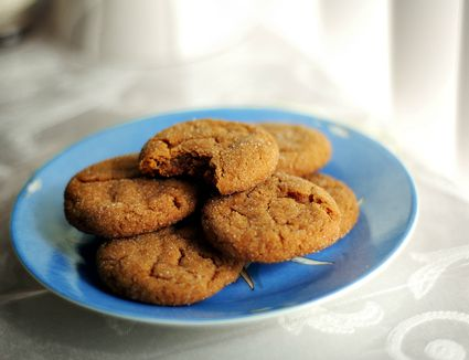 Molasses and Ginger Cookies Recipe