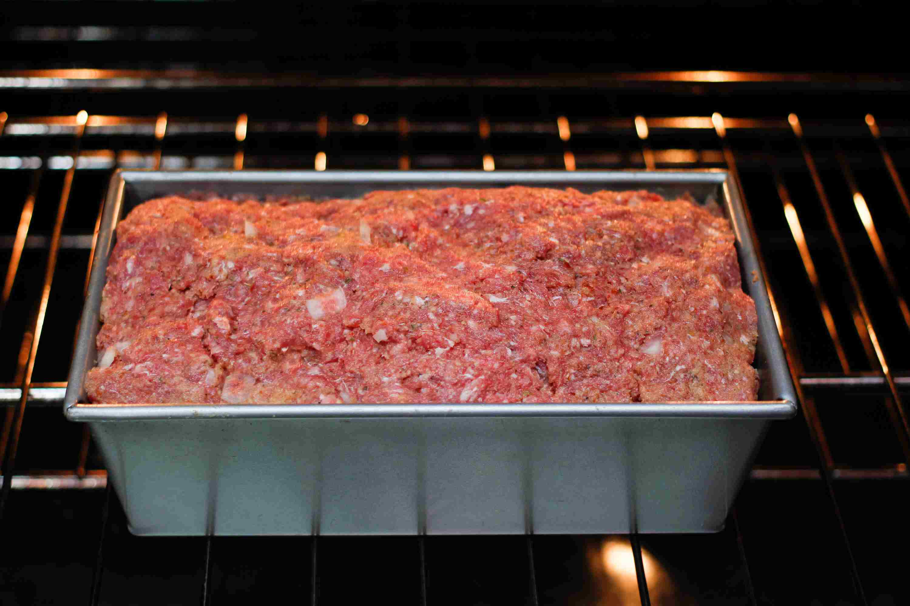 Simple Meatloaf With Optional Topping