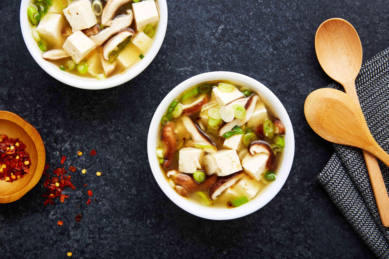 Easy garlic miso soup recipe