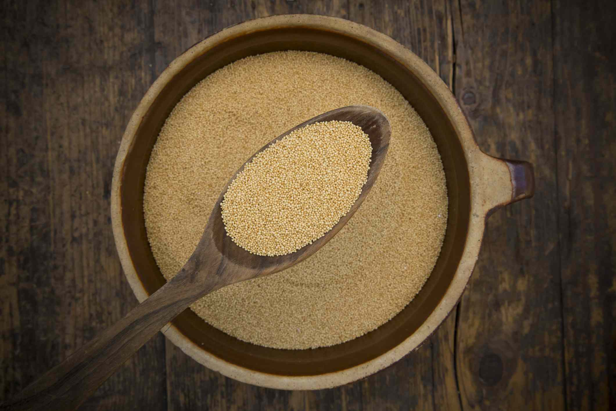 Amaranth, a gluten free starch