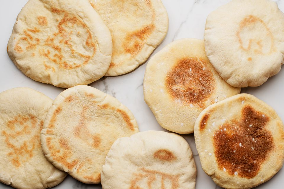 Quick and Easy Homemade Pita Bread