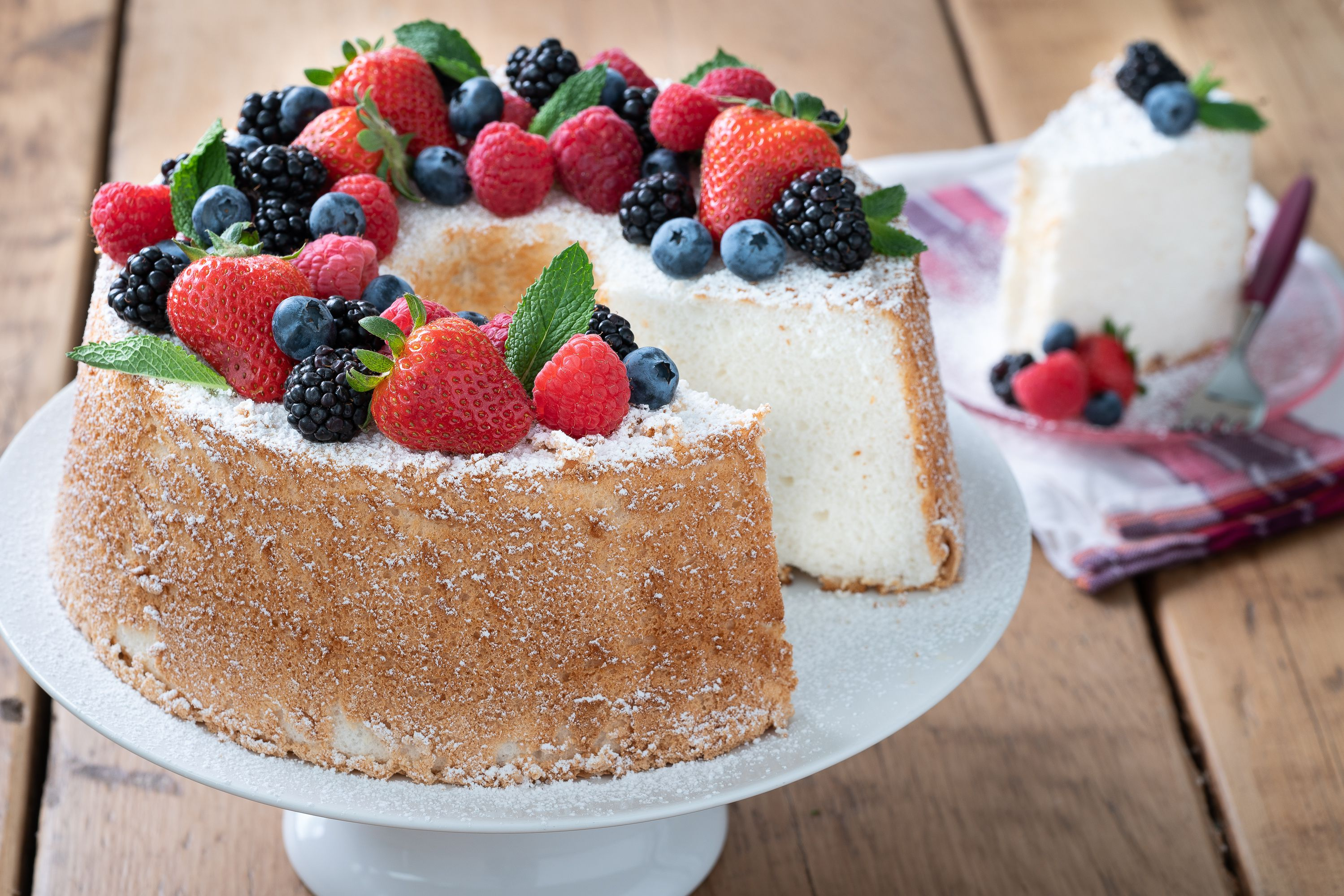 Angle Food Cake Recipes 2 Ingredients