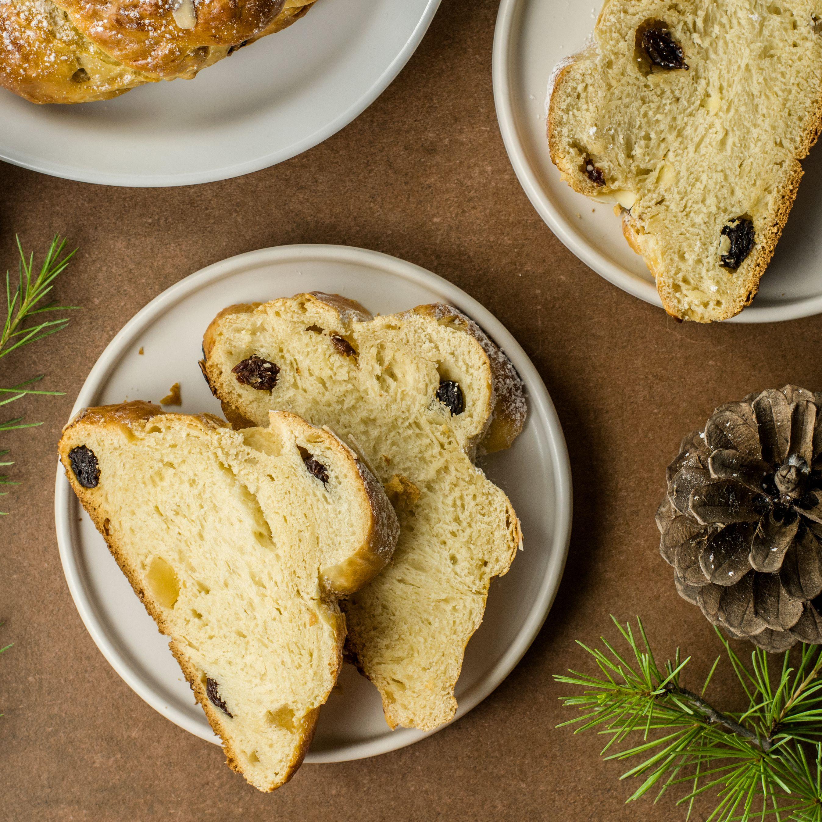 Christmas Bread.Czech Christmas Bread Vanocka