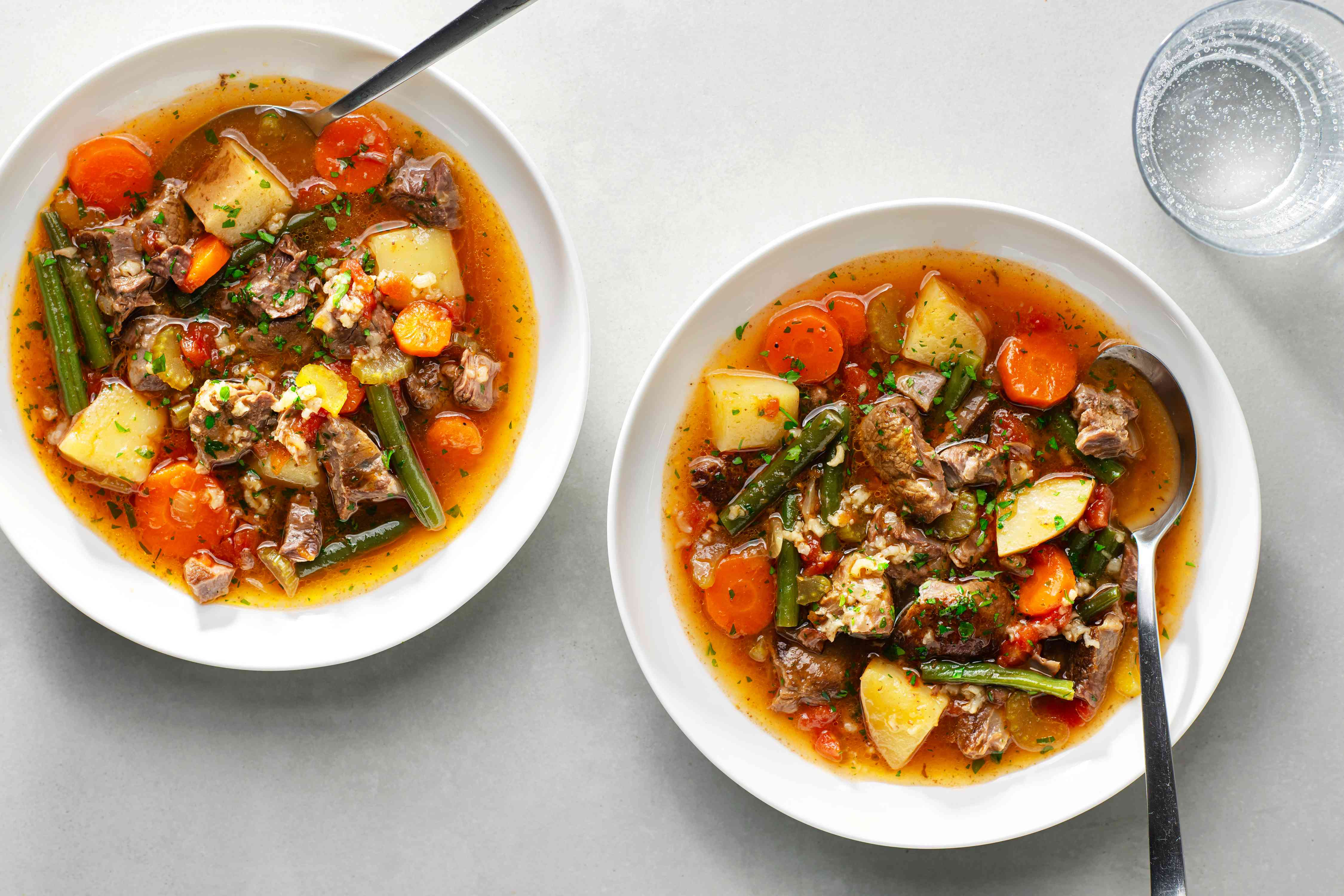 Old-Fashioned Vegetable Beef Soup