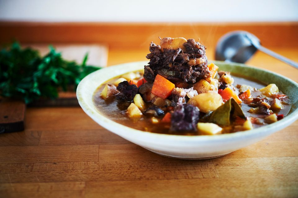 Italian OxTail Stew Guazzetto