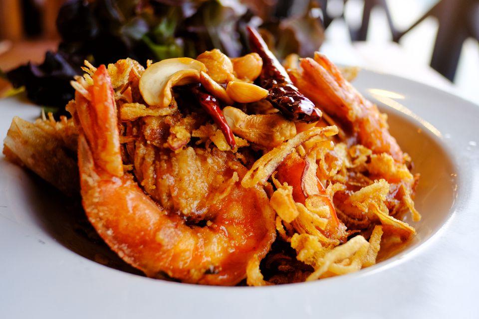 Thai Stir-Fried Tamarind Shrimp