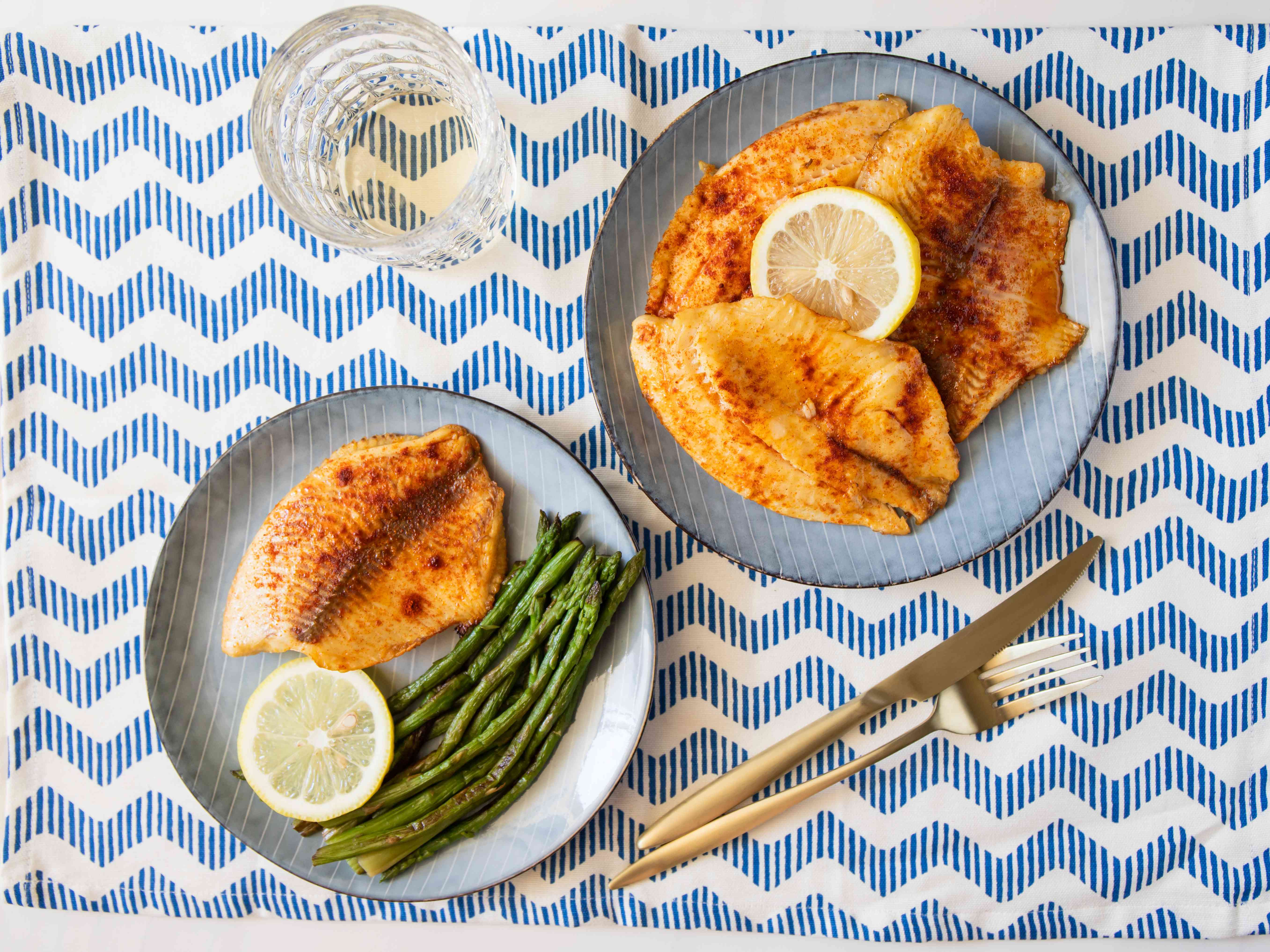 Broiled Tilapia With Lemon and Butter