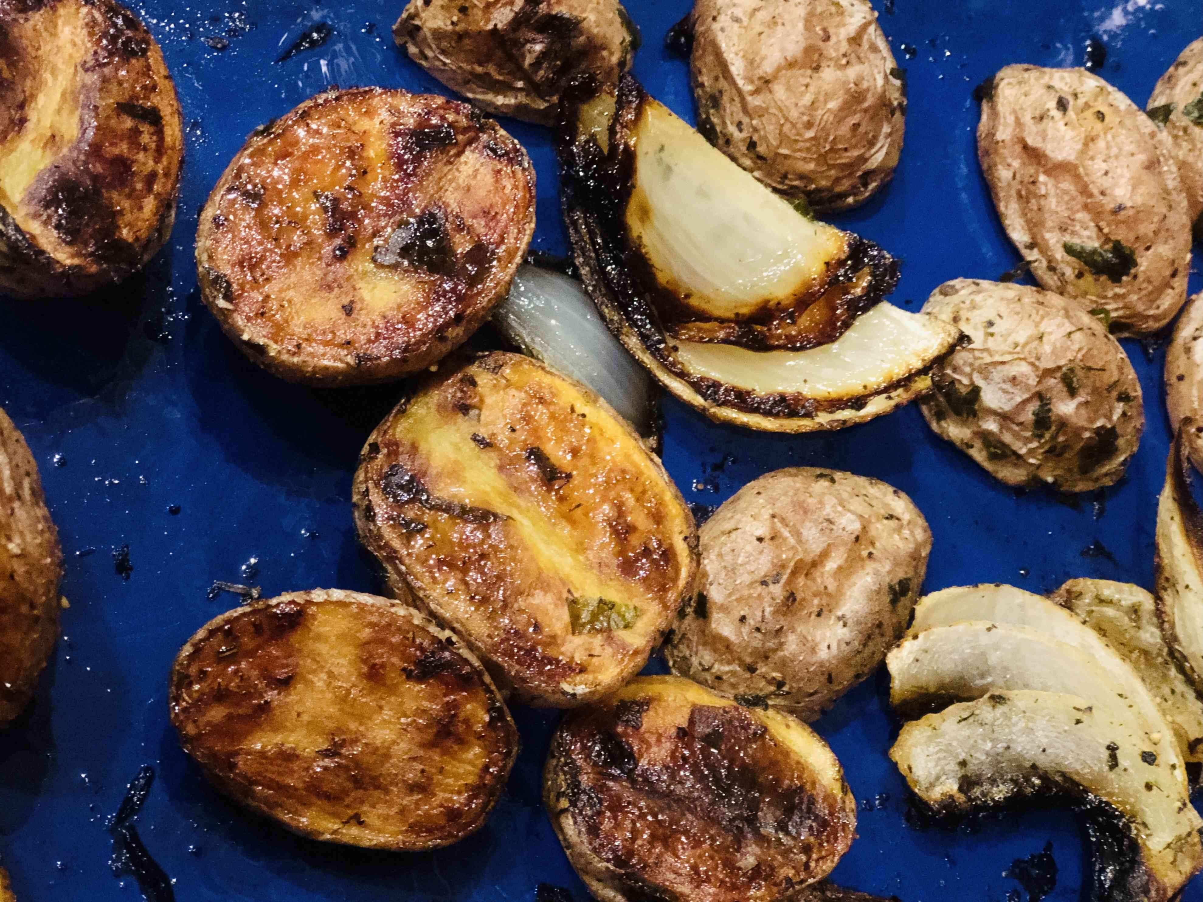 Herb Roasted Red Potatoes Tester Image