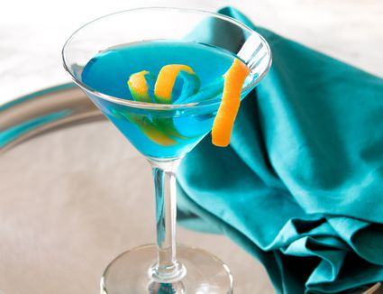 Sapphire Alpine Blue Martini