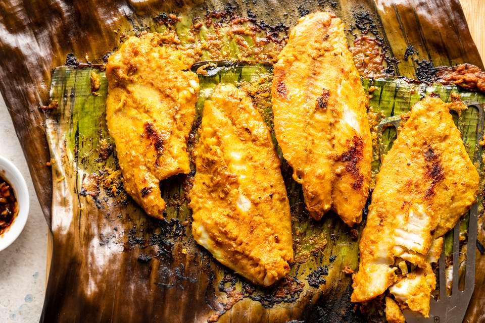 Ikan Bakar: Indonesian and Malaysian Charcoal Grilled Fish