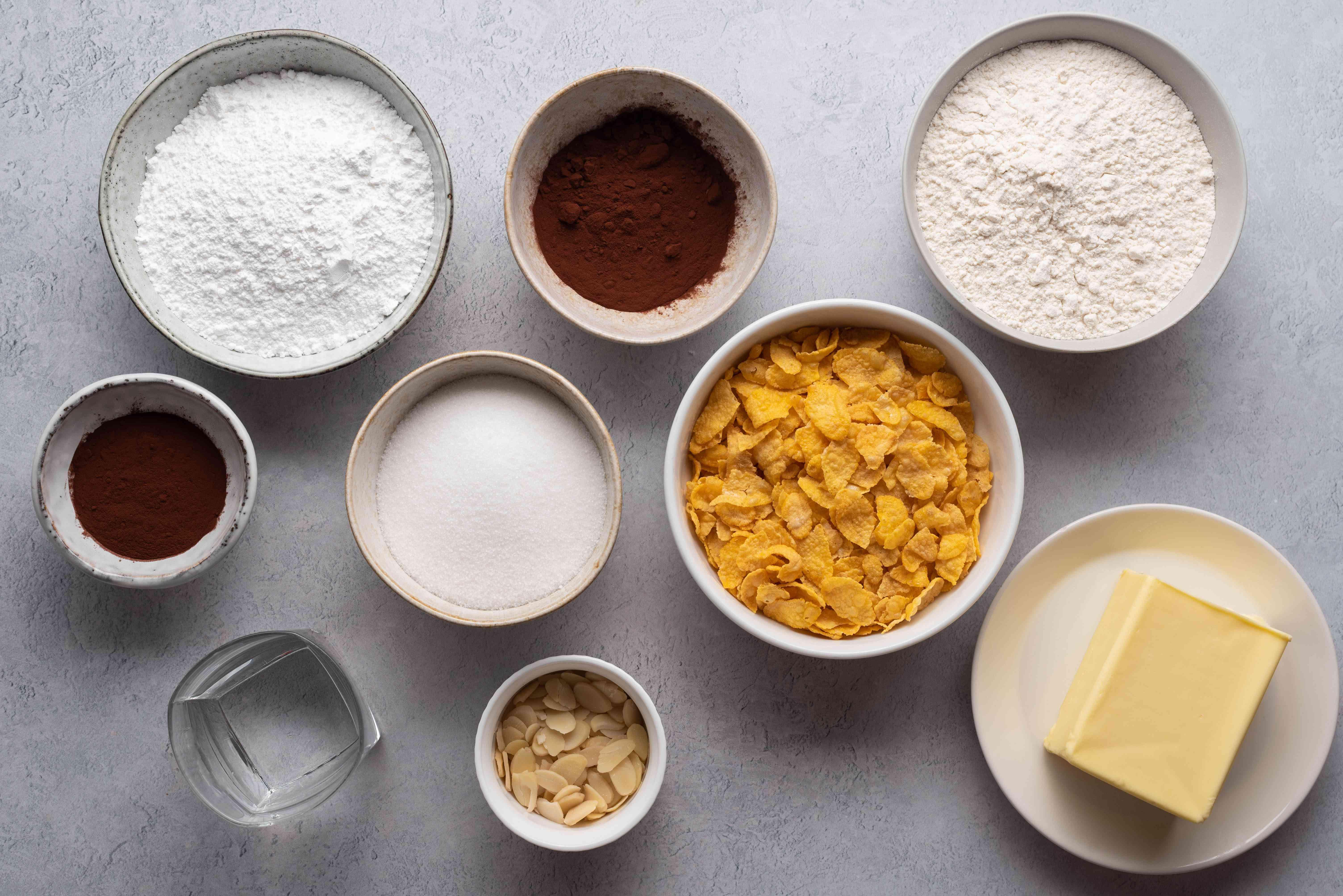 New Zealand Afghan Biscuit/Cookie ingredients